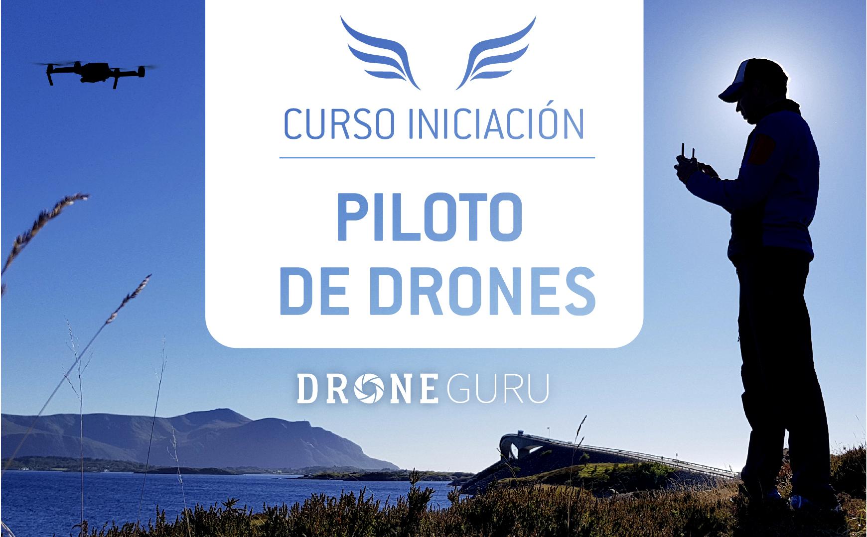 Foto del curso de Iniciación como piloto de drones