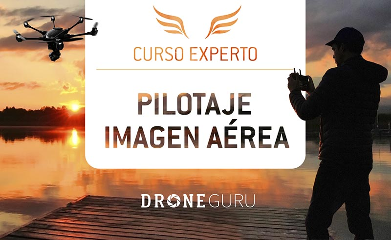 Curso de experto en pilotaje y filmación aérea