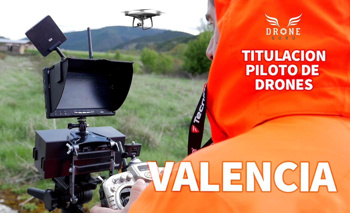Curso drones en Valencia