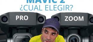 Mavic 2 Zoom y Mavic 2 Pro