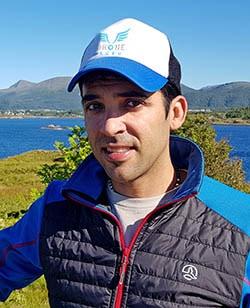 Rafa Ocón piloto de drones profesiona