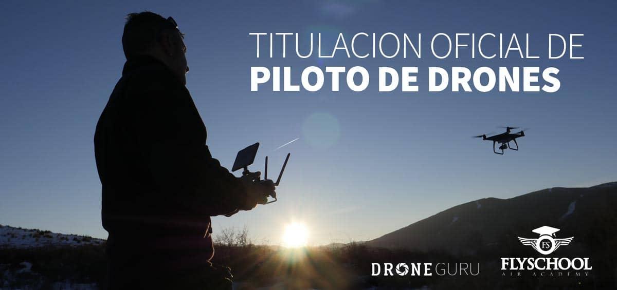Curso Oficial Piloto de drones en España