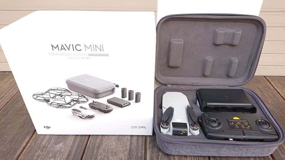 Caja y accesorios Mavic Mini