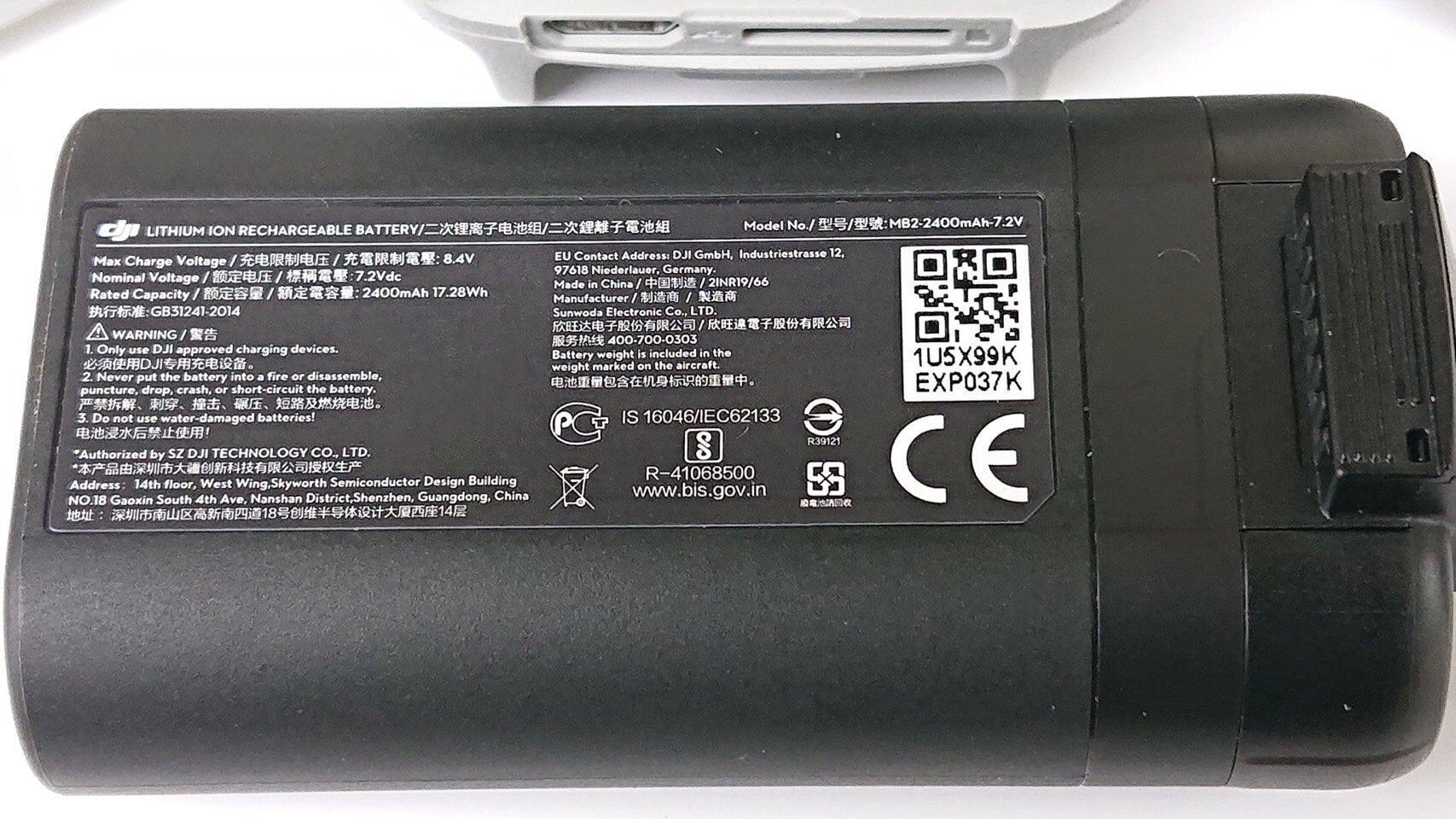 Batería 240 mAh del Mavic Mini