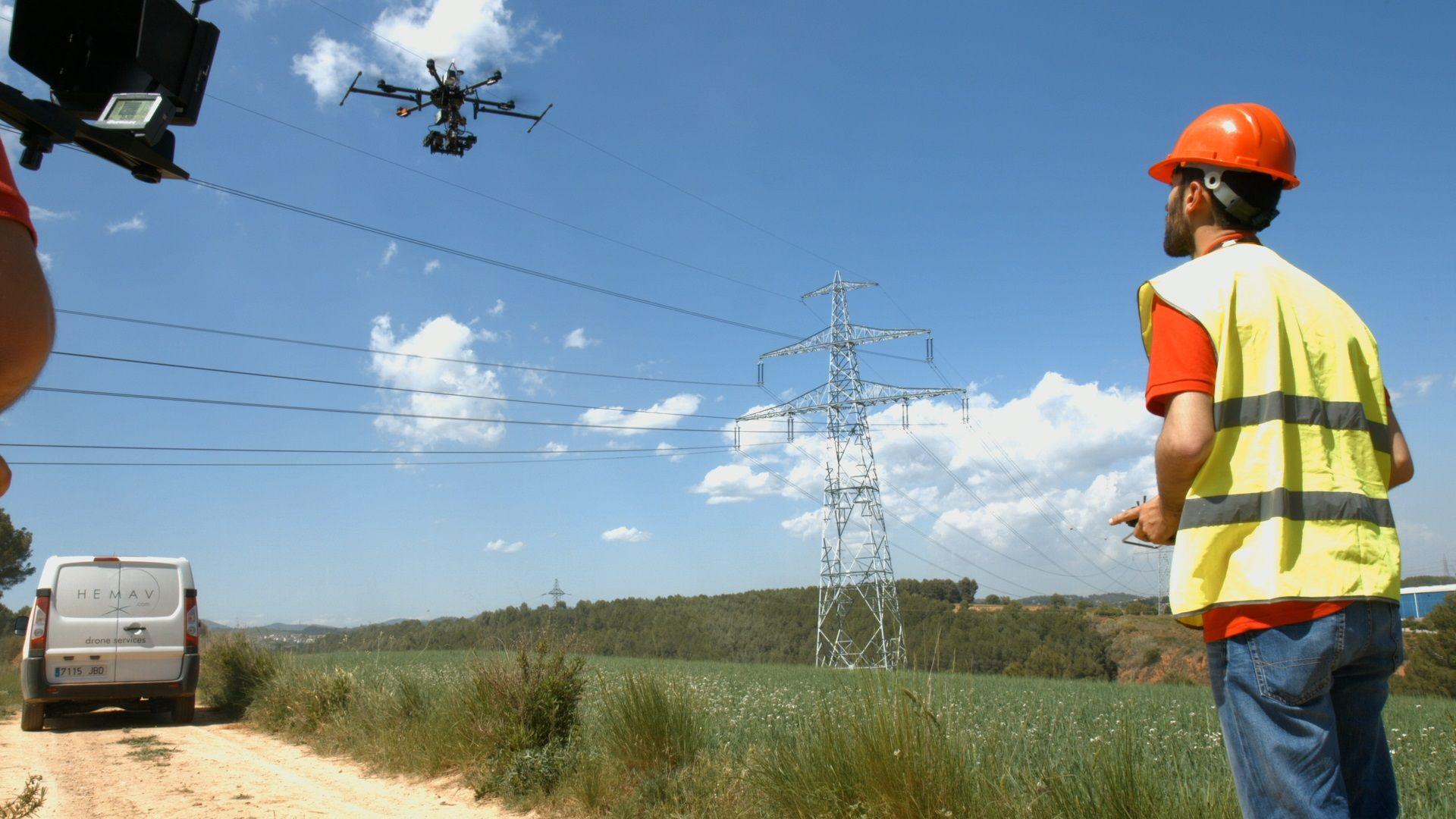 Uso profesional de Drones
