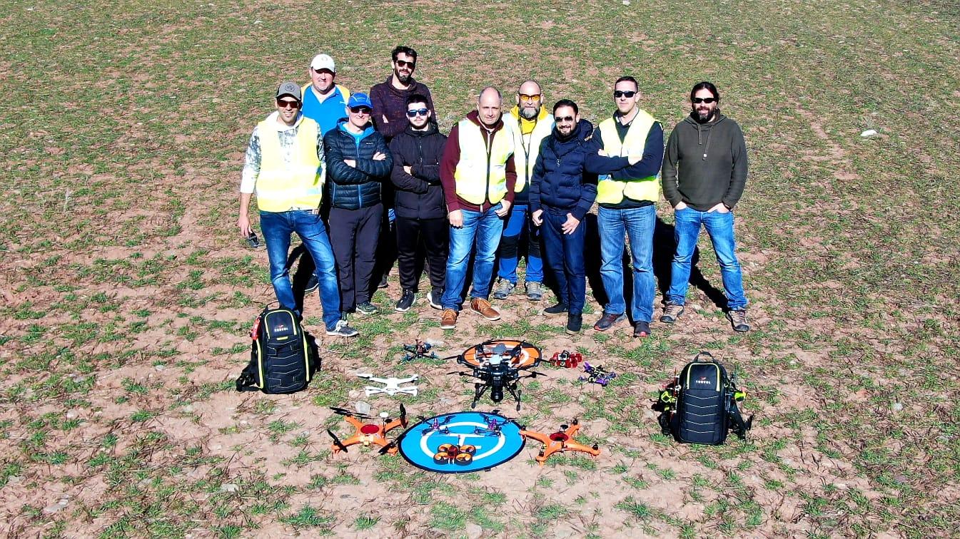 Pilotos titulados en drones en la Rioja