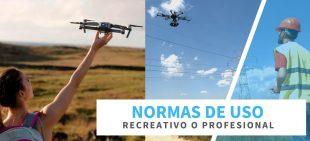 Normas-de-uso-recreativo-o profesional-de-drones