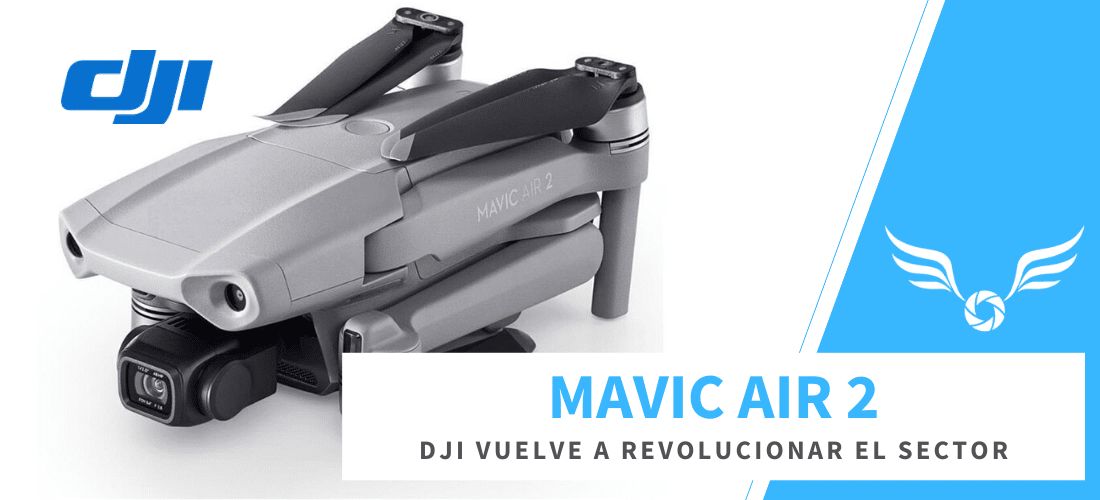 Mavic Air 2: sube de nivel
