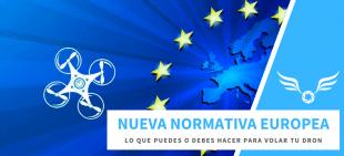 Normativa Europea para drones 2020