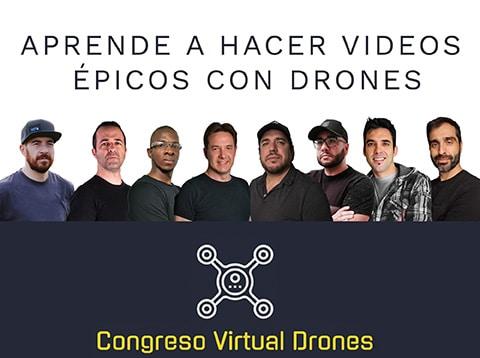 Congreso Virtual sobre drones