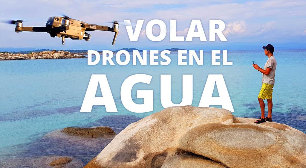 Cómo Volar drones sobre Agua