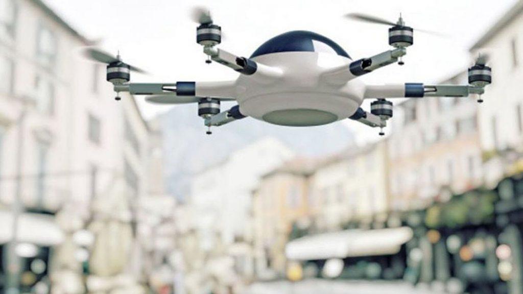 Drone de reparto Airbus