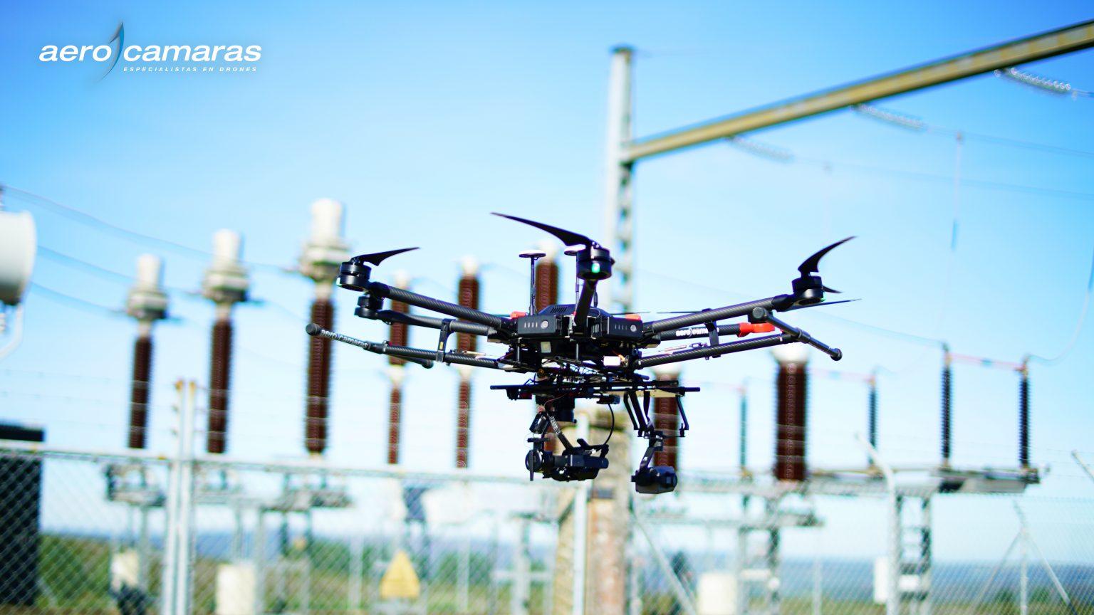 Inspecciones de redes y tendidos eléctricos con dron