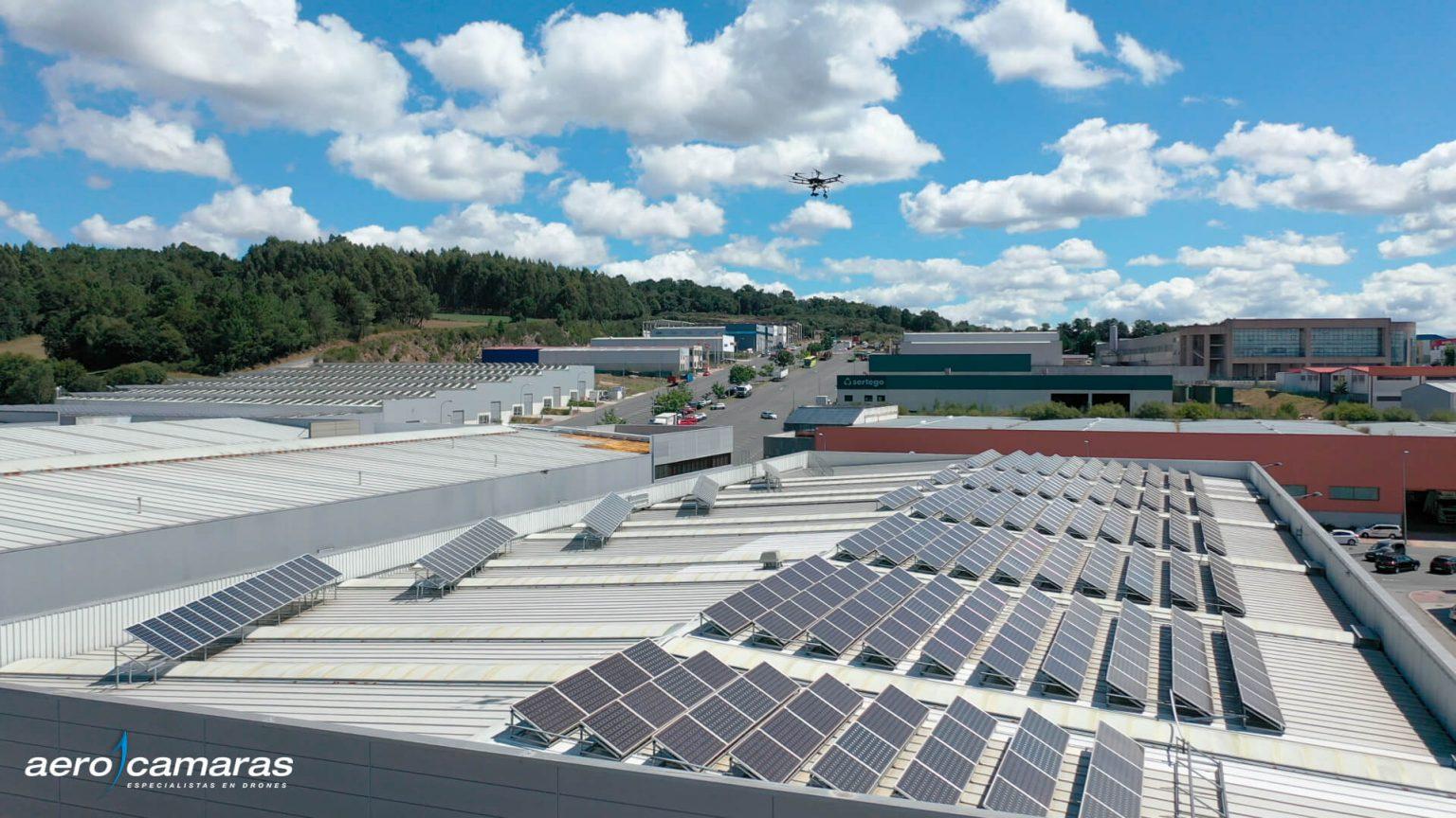 Inspecciones de Placas Solares con dron