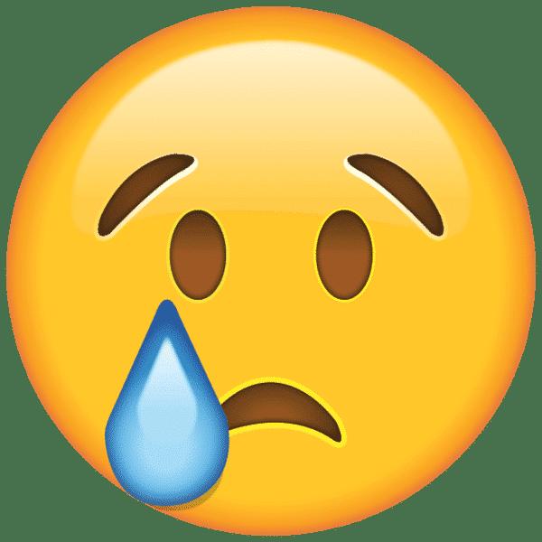 Emoticon Cara triste