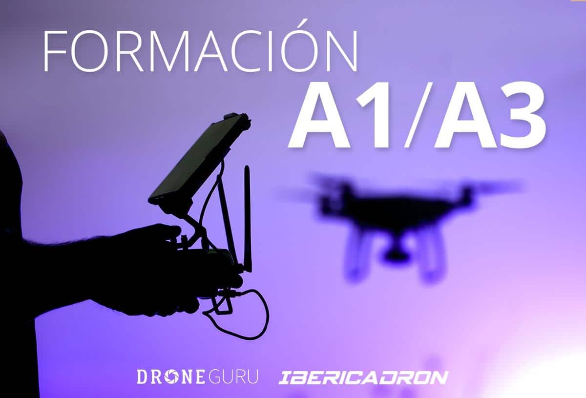 Formación Piloto de Drones  A1/A3