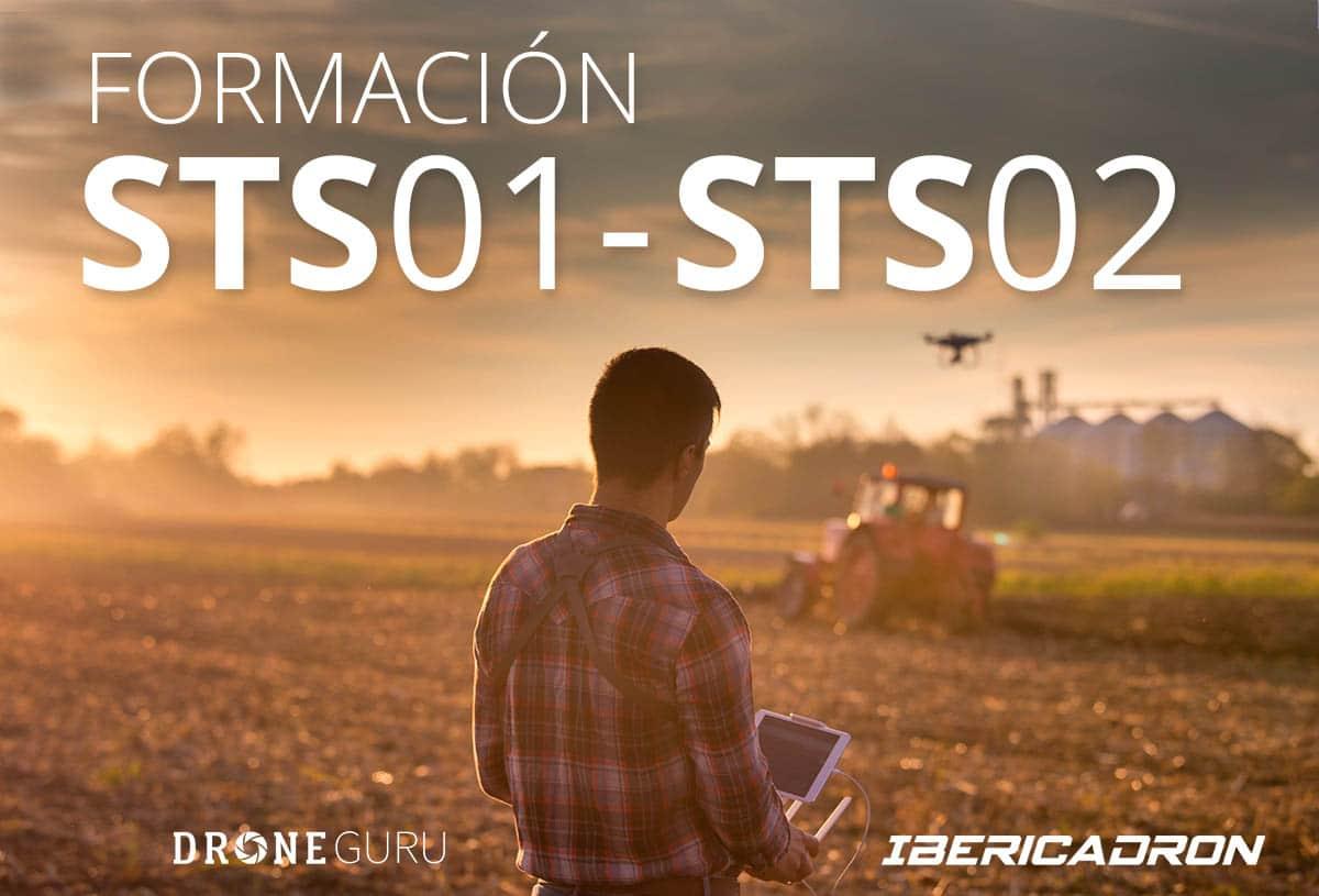 Formacion Pilotos de Drones STS01 y STS02