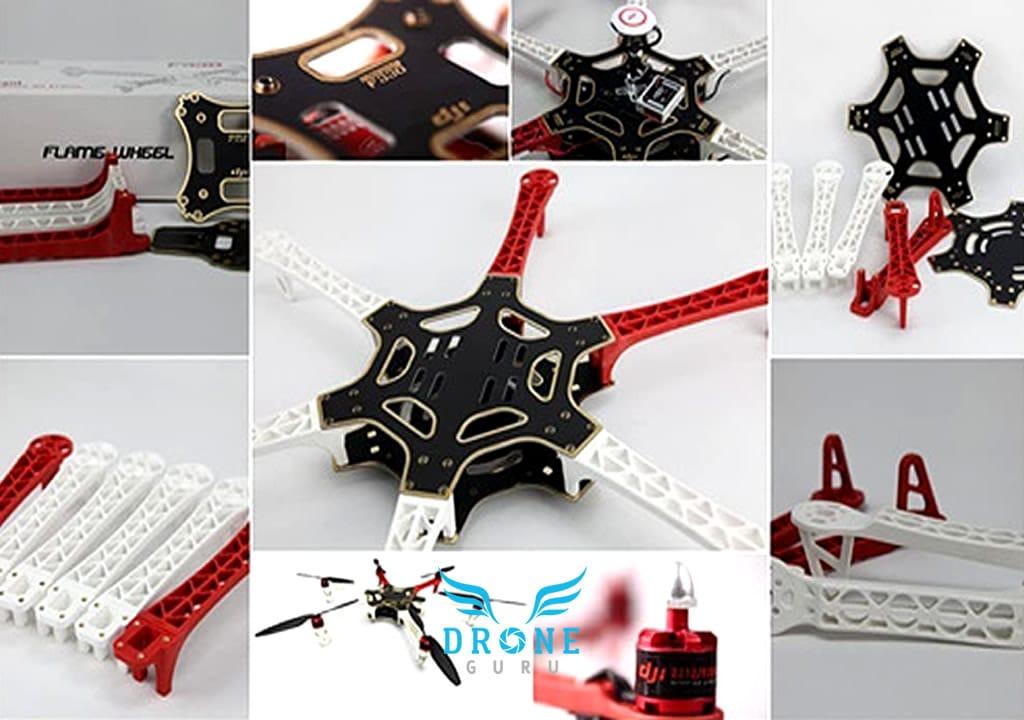 DJI F550 componentes Kit