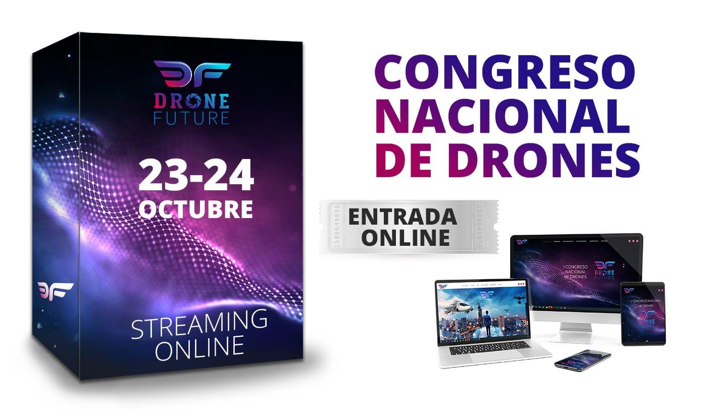 Entrada Online congreso DroneFuture