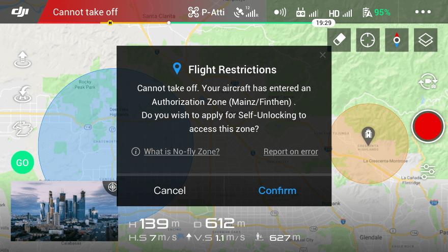 Airport GEO Zones