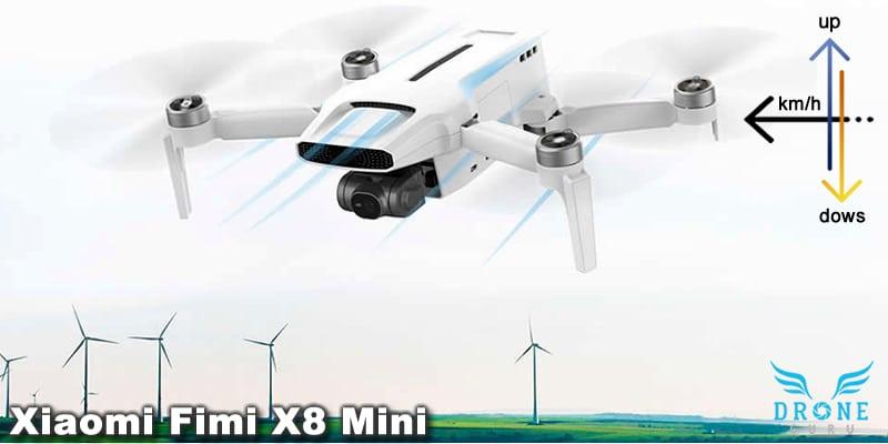 Agilidad y resistencia en vuelo del Xiaomi Fimi X8 Mini
