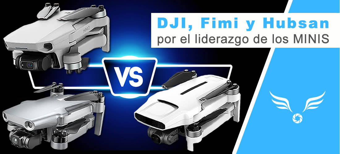 DroneGURU - Comparativa del DJI, Fimi y Hubsan