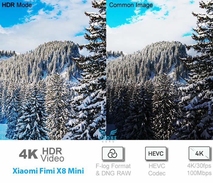 Fimi X8 Mini - 4K HDR