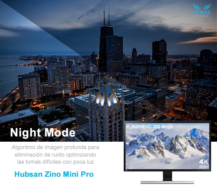 Hubsan Zino Mini Pro - HDR + Night Mode