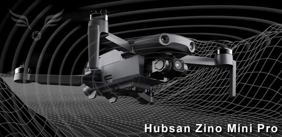 Hubsan Zino Mini Pro - sensores perimetrales