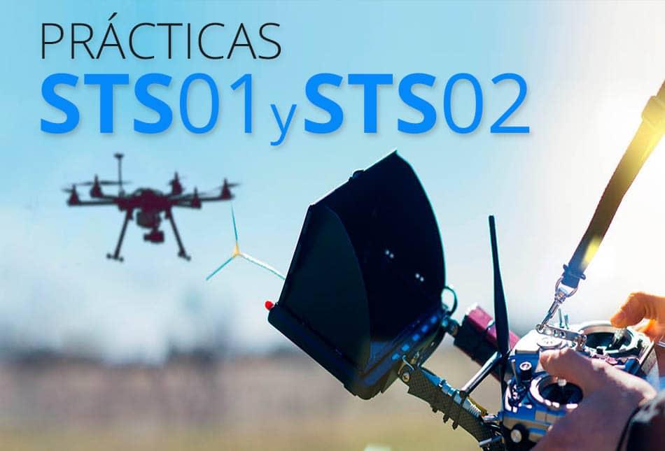 Prácticas AESA escenarios STS01 y STS02